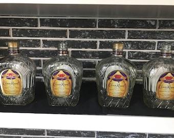 Empty Crown Royal bottles 4
