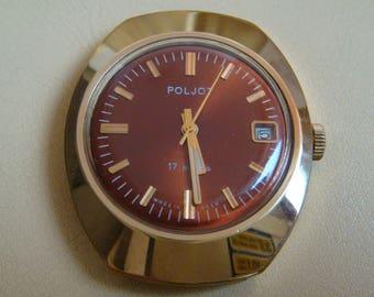 POLJOT soviet watch 18 jewels retro collectible watch