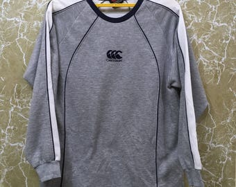 Vintage 90s New Zealand All Black Rugby sweatshirt Jonah lomu ccc M size gray colour
