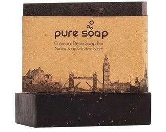 Charcoal Detox Soap Bar