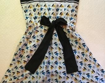 Handmade Tea Dress sz xxs or child lg