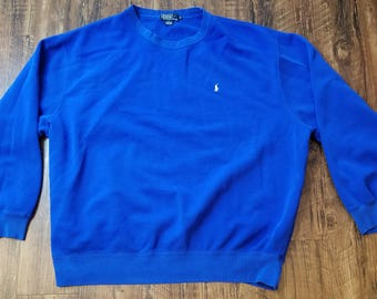 POLO By Ralph Lauren Blue Pullover Sweater