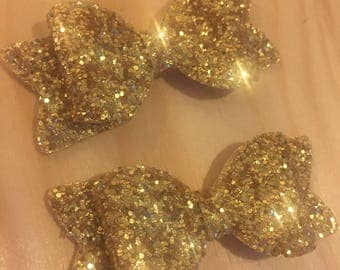 EC***Mini glitter hair clip set