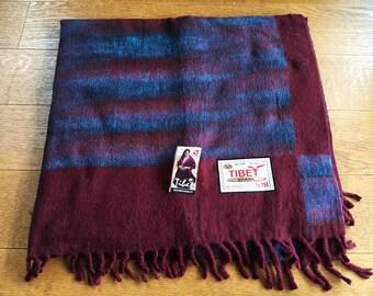 Tibetan Yak Wool Blanket (Premium quality)