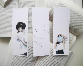 bookmark, art, drawing, print, illustration