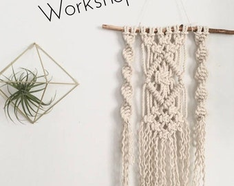 Macrame Wall Hanging Workshop April 15th