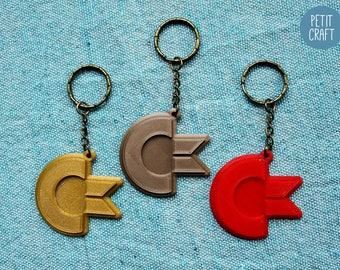Commodore 64: 3D Printed Keyrings