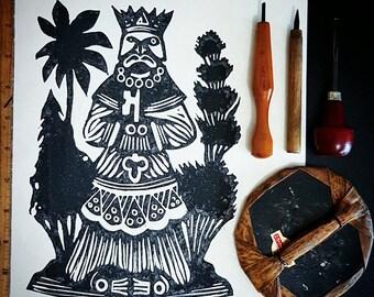 Aboriginals Printmsking- Aboriginal Art- Mayan- Mayan Art- Mayan Culture- Mayan Decor- Indigenous People- Indigenous Art- Indigenous Design