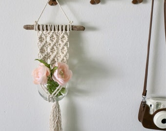 Macrame Wall Plant Hanger *MADE TO ORDER*