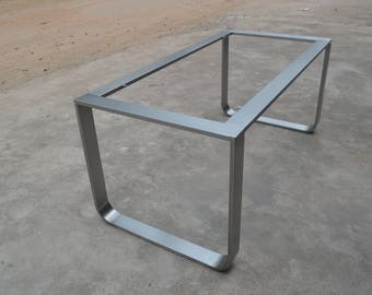 28'' Table Base, Metal Table Legs, Industrial Style, Woodworking, Stainless Steel, Diassembles Table Legs, Custom Dining Table Base,