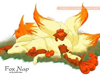 Naptime Pokemon Art