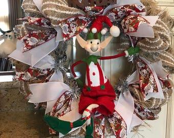 Elf in the Wreath