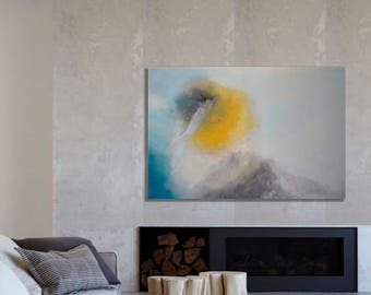 Large Abstract Painting, Original painting, Landscape Abstract painting