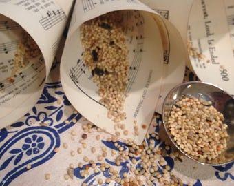 Rice Toss Paper Cones, Paper Cones, Confetti Cones, Wedding Send Off, Rice Toss Alternative, Petal Cones, Favor Cones, Wedding Reception