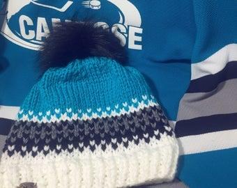 Hockey Mom Hat, Gift for Mom, Gift for Her, Gift for Wife, Gift for Girlfriend, Gift under 40, Hockey Fan, Hockey