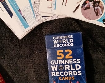Guineas World Records Cards 52 Officially Amazing