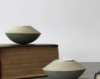 Concrete Tealight Holder, Candle Pot, Tealight Holder, Tea Candle Holder, Round Holder, Concrete Candle Pot, Concrete Decor, Home Decor