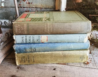 Old Books - Early 1900's War Fiction