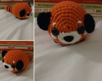 Ready to Ship - Semper the Red Panda amigurumi