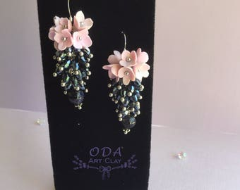 Dark Blue Sky Earrings