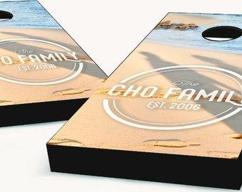 Custom Family Cornhole Boards