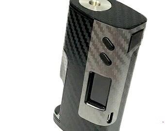 Sigelei Fuchai Squonk Dual Carbon Fiber Gray/Black Textured Skin