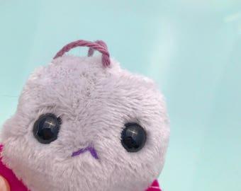 Mini Monster Plush// monster plush, monster stuffed animal, monster purse, denton monster, monster stuffed toy, ooak plush, art toy, toy