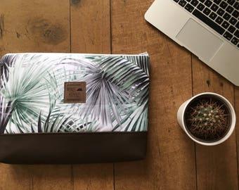 Laptop sleeve cases laptot palm leaves