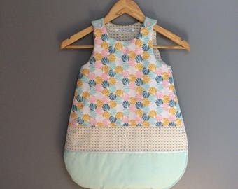 Geometric print sleeping bag 0-6 months. To order