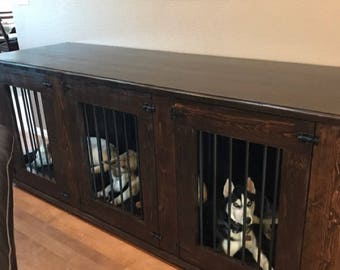 Triple dog kennel, Triple dog crate