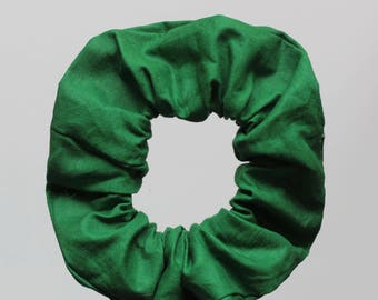 Grün - Green Scrunchie