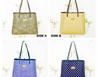 Benaiah Reversible Tote Bag