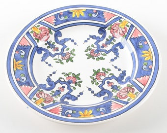 Hand-Painted Decorative Portuguese Plate