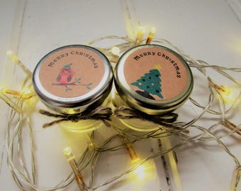 Christmas gifts Stocking Fillers Scented Candle Ecofriendly Soy wax+natural oils
