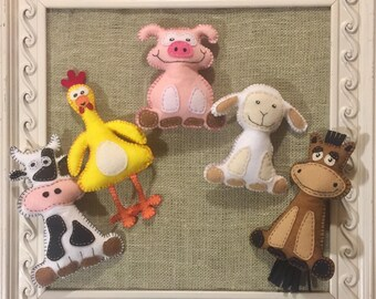 Barnyard Animal Stuffies