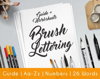 the brush calligraphy guide workbook pdf