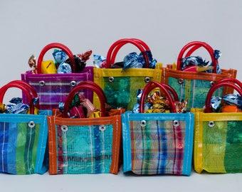 25 Mini Market Bag, Wholesale, Mercado Bag, Party Favor, Give Away, Wedding, Boda, Bautizo, Regalo, candy bag, party bag