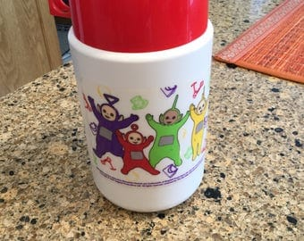 Thermos Teletubbies lunchbox thermos! 1999 and in great condition..looks new!