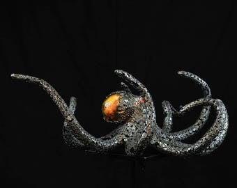 "Metal Octopus Sculpture ""Octo"""