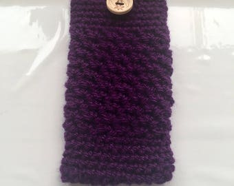 Crochet Mobile Phone Case, Phone Case, Phone Cover, Protective Cover, Crochet Cover, Protective Sleeve, Handmade Device Cover, Fab Gift