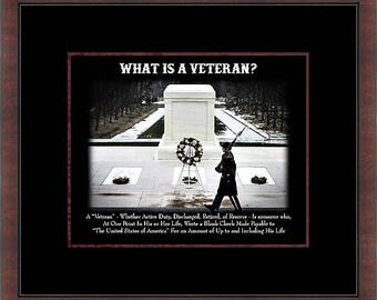 What is a Veteran Custom Framed