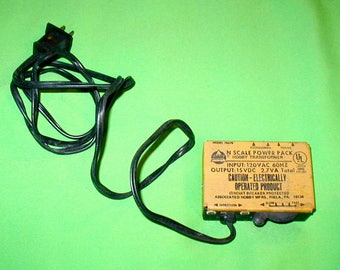 N Scale hobby train transformer model 79279 platform railroading vintage electronic  rare collectible