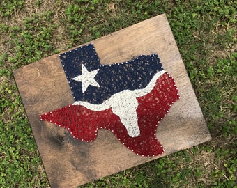 Lone Star State String Art