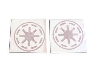 Star Wars Clone Wars Pilot Republic Cogs Decals