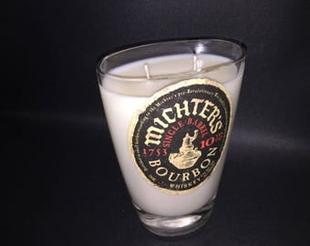 Michters Michter's 10 Year Bourbon Whiskey Soy Candle. Made To Order !!!!!!!