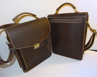 Leather bag for men