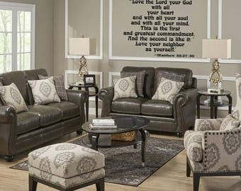 Matthew 22:37-39 Wall Decal
