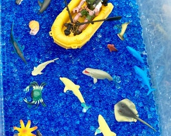 Sea Adventure Sensory Bins