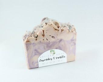 Lavender & Vanilla   Handcrafted Artisan Soap