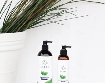 Aarde Cosmetics Herbal Shampoo & Conditioner Set